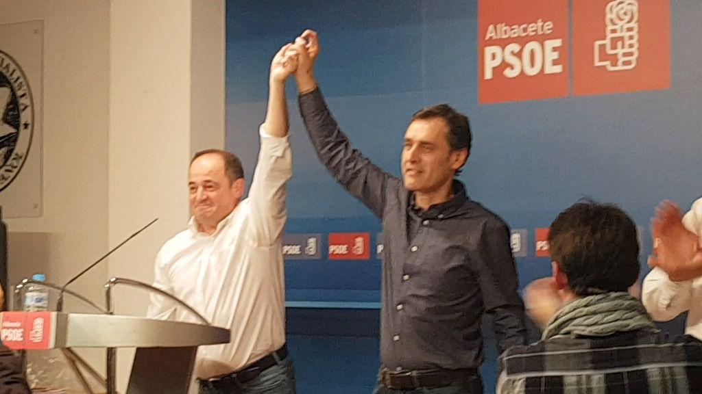 Emilio Sáez se convierte en el nuevo secretario general local del PSOE de Albacete al imponerse a Francho Tierraseca