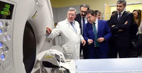 Emiliano García-Page visita el nuevo TAC del Hospital del Perpetuo Socorro de Albacete y la localidad de Casas Ibañez