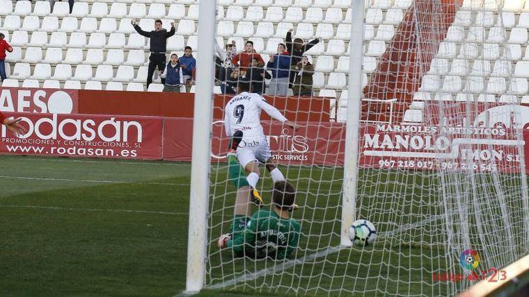 1-0. El Albacete gana a un buen Numancia con gol tempranero de Aridane