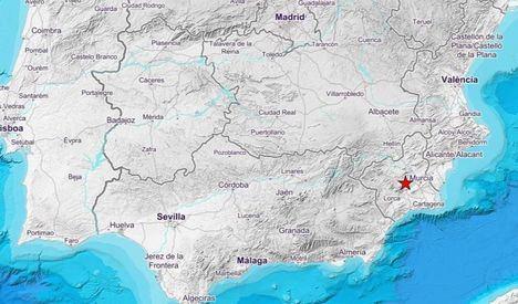 Un terremoto de magnitud 4.1 en la escala Ritcher en Murcia se deja sentir en varias localidades de Albacete