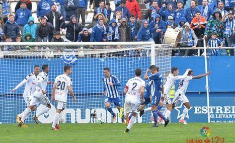 1.2. El Albacete, con poco fútbol, pero con acierto y suerte gana a un pésimo Lorca a domicilio