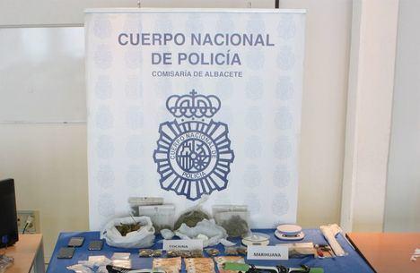 Dos detenidos en Albacete como presuntos autores de un delito de tráfico de drogas