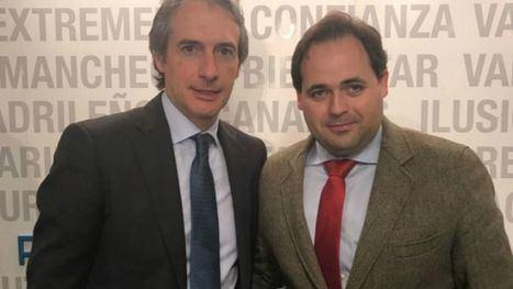 El alcalde de Almansa consigue el compromiso del ministro Iñigo de la Serna con el Corredor Mediterráneo