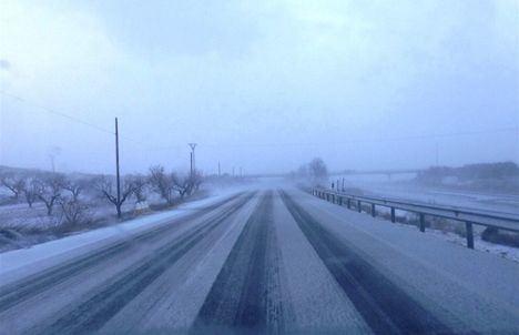 Albacete, Ciudad Real y Cuenca estarán este sábado en riesgo por nevadas