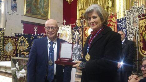 La profesora Teresa Romero pregonó la Semana Santa de Hellín 2018