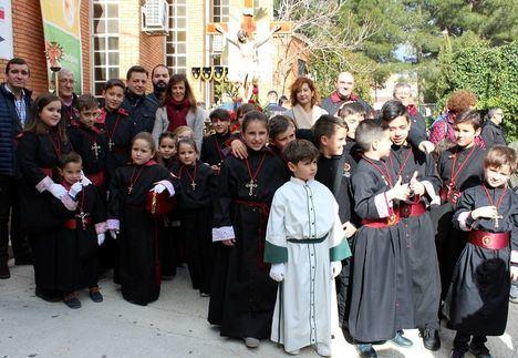 En Albacete, los más jóvenes son los protagonistas con la procesión infantil