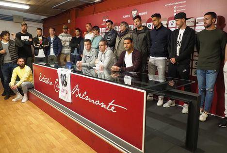 La plantilla del Albacete se centrará 'en lo deportivo': 'Sabemos que es lo que desea Pelayo que hagamos'