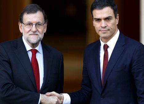 Las agendas de Mariano Rajoy y Pedro Sánchez coinciden este jueves ya que ambos visitan Albacete