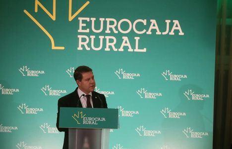 """García-Page: """"En una sociedad cooperativa como Eurocaja Rural se escenifica la unidad que nos hace más fuertes"""""""