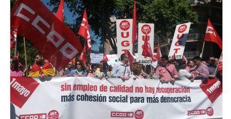 Los Sindicatos llaman a movilizarse este 1 de mayo por la igualdad, mejoras en empleo y salarios y pensiones dignas