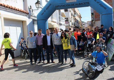 Más de 1.300 participantes se dan cita en Albacete en la VIII Carrera Solidaria a beneficio de Afanion
