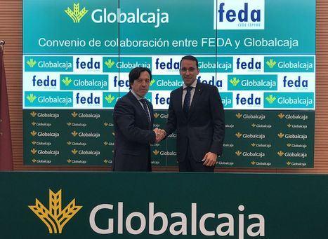Convenio de Globalcaja con FEDA en apoyo del desarrollo empresarial