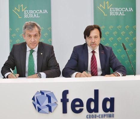 Eurocaja Rural habilita 60 millones a empresas y autónomos de Albacete, a través de Feda, para financiar su actividad