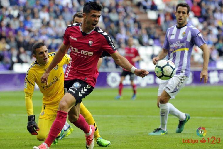 3-2. El Albacete vuelve a perder ante el Valladolid, y ya son ocho jornadas sin ganar