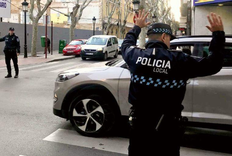 La Policía de Albacete sorprende a una niña de 14 años conduciendo un vehículo
