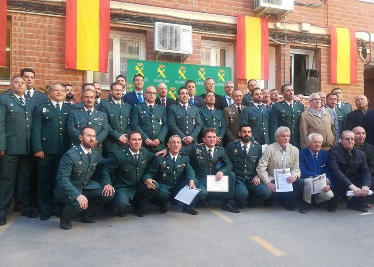 La Guardia Civil de Albacete celebra su 174 aniversario destacando el descenso del 59% en robos en el campo desde 2013