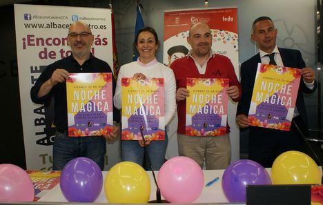 El comercio de Albacete tiene una nueva cita este viernes con motivo de la Noche Mágica