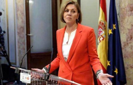 Cospedal: 'Rajoy no va a dimitir porque el PP no podría seguir en el Gobierno de España'