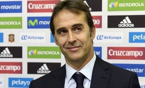 Julen Lopetegui será el entrenador del Real Madrid después del Mundial