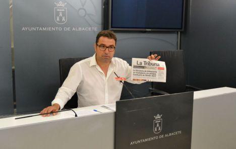 """Belinchón: """"Un alcalde que miente, tergiversa y manipula, no se merece estar ni un día más al frente del Ayuntamiento de Albacete"""""""