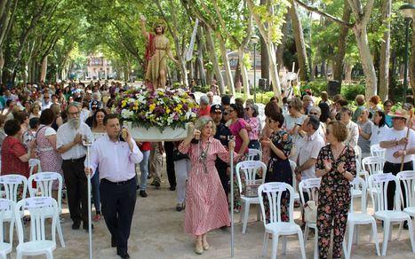 Masiva participación en la Romería en honor a San Juan Bautista en Albacete