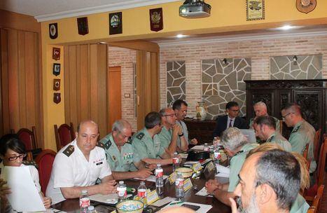 González Ramos mantiene su primera reunión con el General Jefe de la Guardia Civil en Castilla-La Mancha