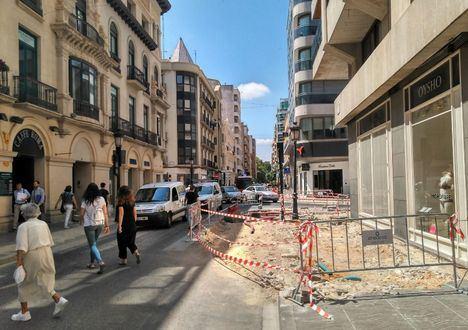 """Ganemos denuncia la mala planificación y los incumplimientos en el contrato de las obras de la """"mal llamada peatonalización del centro"""""""