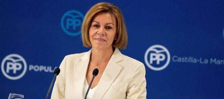 El PP de la región ve a Cospedal 'muy fuerte' y cree que el PSOE le tiene 'miedo': 'Está muy viva y lo va a seguir siendo todo'