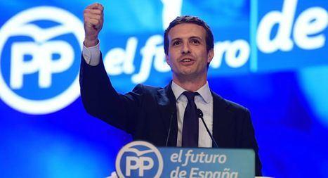 Casado se impone a Santamaría por 451 votos y es proclamado nuevo presidente del PP con el 57% de apoyo