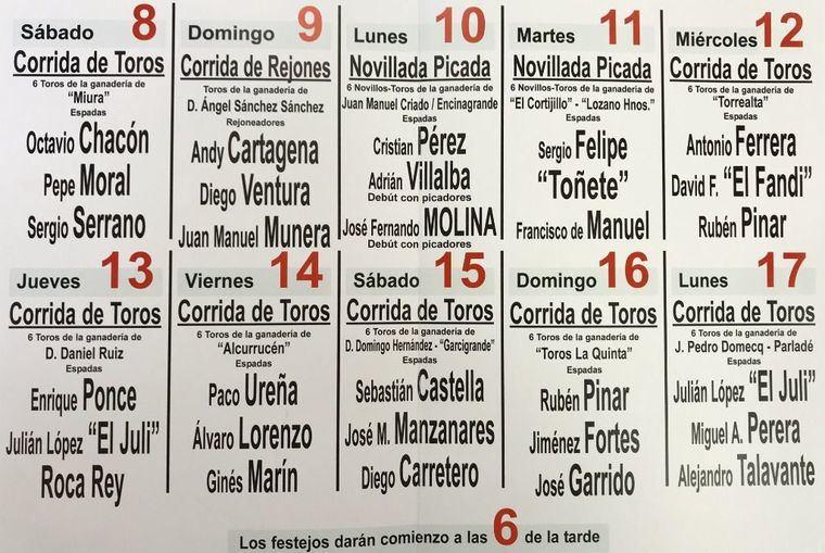 Doblete de 'El Juli' y Rubén Pinar, corrida de Daniel Ruiz y la vuelta de 'Miura', claves de la Feria Taurina Albacete