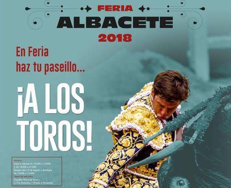 Este viernes se inicia la campaña de renovación de abonos y venta de entradas para la Feria de Albacete 2018