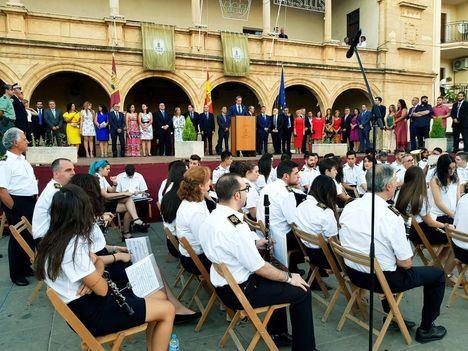 Arrancan la Feria y Fiestas de Villarrobledo 2018 con la presencia del presidente de la Diputación, Santiago Cabañero