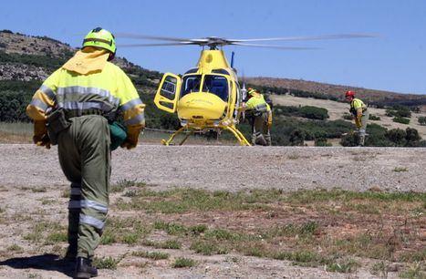 Herido un trabajador de la base helitransportada de Molinicos (Albacete) tras la caída de un rayo