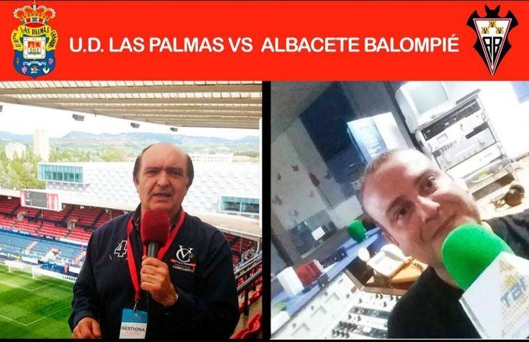Gestiona Radio Albacete retransmite esta tarde el encuentro de fútbol Las Palmas - Albacete a partir de las 20,00 horas
