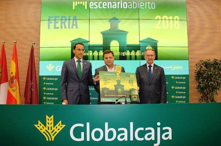 Globalcaja volverá a estar presente en la Feria de Albacete con su 'Espacio Abierto'