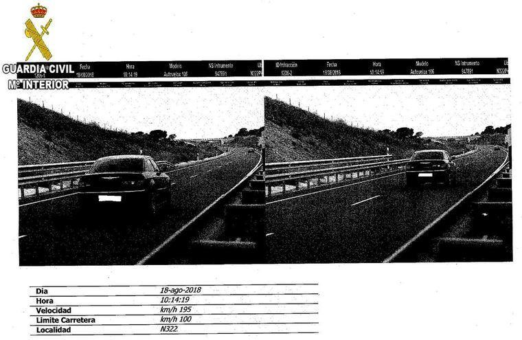 Investigado el conductor de un turismo de alta gama por conducir a 195 km/hora por un tramo de 100 en Albacete