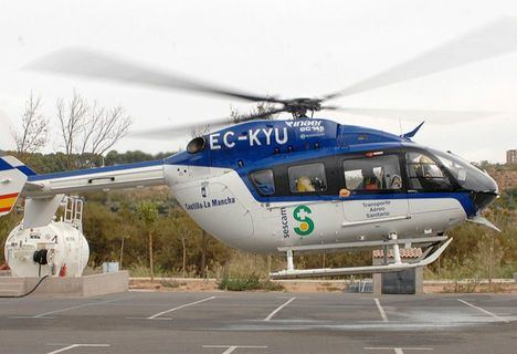 Tres heridos de diversa consideración tras la colisión entre dos turismos en Alcaraz (Albacete)