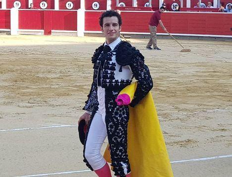 Andrés Palacios sustituye este domingo a Fortes con la corrida de La Quinta en la Feria de Albacete