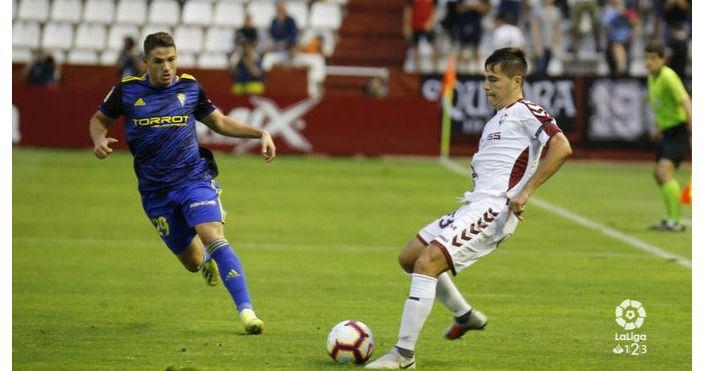 1-1. Al Albacete 'se le van' dos puntos ante el Cádiz en el descuento
