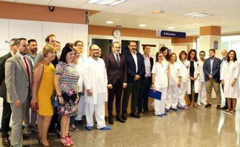 El Gobierno de Page reabre la planta del Hospital de Villarrobledo (Albacete) cerrada por Cospedal en la anterior legislatura