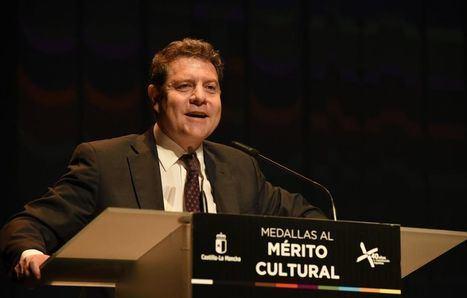 En Albacete, Page reconoce a la cultura como uno de los exponentes que más testimonian el avance del país en 40 años de democracia