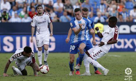 2.1. El Albacete se deja los tres puntos en Málaga por sus propios errores