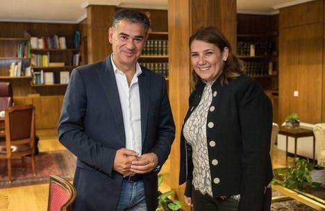 El Gobierno regional y el Gobierno central coinciden en la necesidad de abordar proyectos prioritarios para Castilla-La Mancha en materia de carreteras y ferrocarril