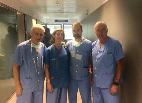 Cirujanos de Albacete y Hellín realizan una técnica quirúrgica novedosa en cirugías de tiroides en el hospital hellinero