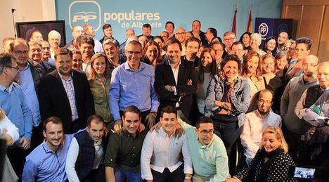 Vicente Aroca es el nuevo presidente del PP de Albacete en sustitución de Francisco Núñez