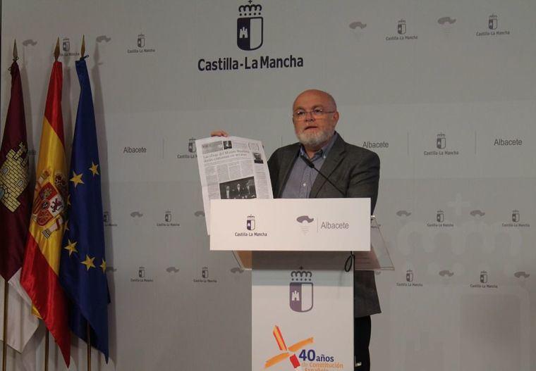 """Ruiz Santos desvela que el proyecto del Museo de Arte de Cospedal y Núñez ha sometido a la Diputación de Albacete al """"encorsetamiento"""" de un plan económico financiero"""