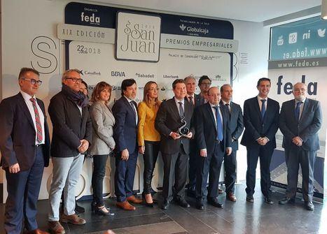 Page recoge una mención especial de los XIX Premios 'San Juan' de FEDA en Albacete