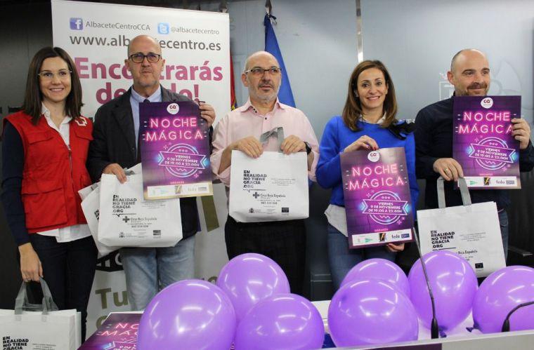 Albacete se convierte este viernes en 'un centro comercial abierto' con la XV 'Noche Mágica del Comercio'