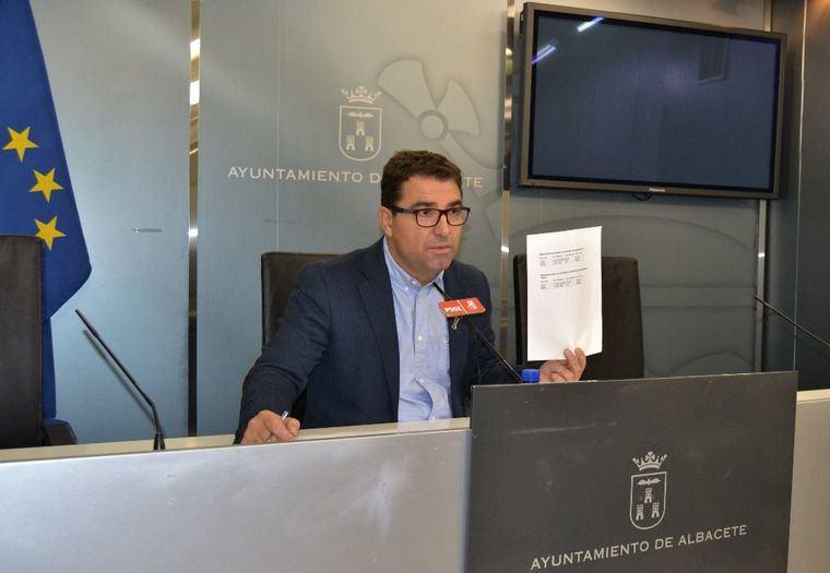 """Modesto Belinchón: """"El único interés del PSOE en las mesas de contratación es el de velar por los intereses de la ciudad"""""""