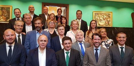 Santiago Cabañero participa en la reunión de la Comisión de Diputaciones Provinciales, Cabildos y Consejos Insulares de la FEMP